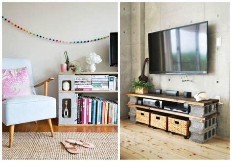 muebles  bloques de hormigon ecodeco mobiliario