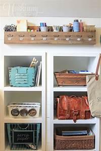 craft room organization ideas Creative, Thrifty, & Small Space Craft Room Organization ...