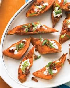 loaded sweet potato skins recipe martha stewart