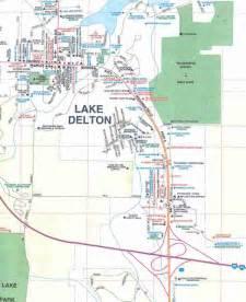 Wisconsin Dells Area Map