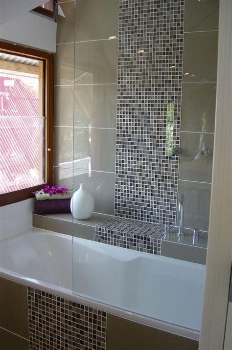 Modern Bathroom Mosaic Design by Glass Tile Backsplash Modern Glass Mosaic Tile Shower
