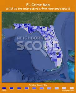 Crime Rate Map Florida