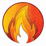 Element Fire Icon Games Card Graphic Board