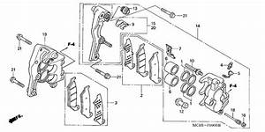 Front Brake Caliper For 2005 Honda Xl650 Xl650  Transalp