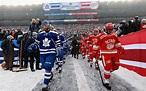 NHL Winter Classic 2014 : pics