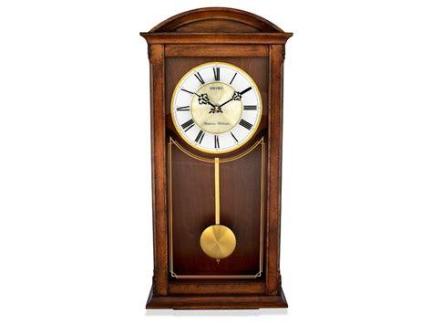 Seiko Oak Pendulum Chiming Wall Clock