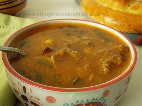 sherazade cuisine harira de sidi bel abbes de sherazade le