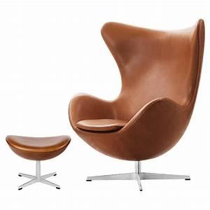 Jacobsen Egg Chair Fritz Hansen Egg Chair Designed By