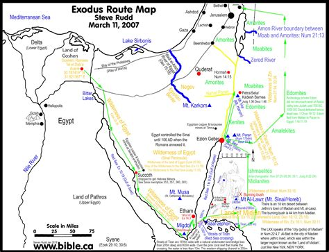 bible maps  exodus  egypt  bc