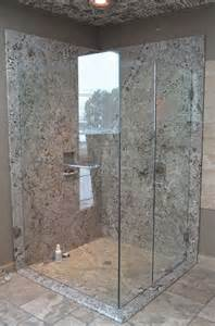 slab showers the granite place inc
