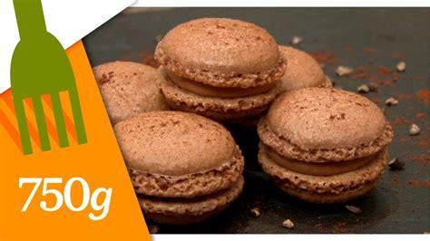 750grammes recettes de cuisine recette de macarons au chocolat 750 grammes la