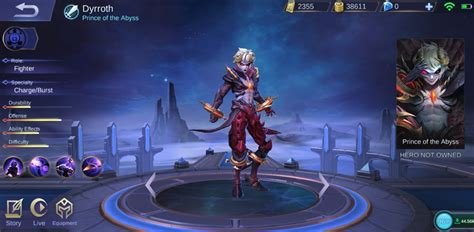 build dyrroth mobile legends fighter rasa assassin