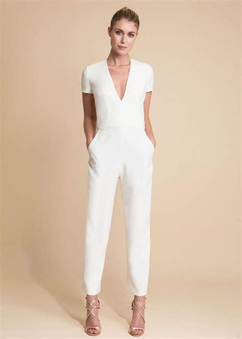 white jumpsuits for de 25 bedste idéer inden for white jumpsuit på