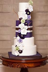 purple wedding cake purple wedding cakes stylish