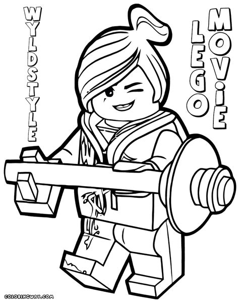 Lego Movie coloring pages   Coloring pages to download and