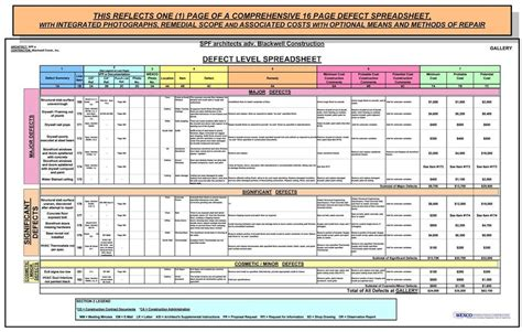 printable floor plan deferred maintenance of a commercial industrial complex