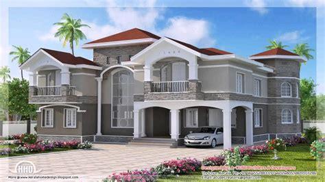 double storey house design  india youtube