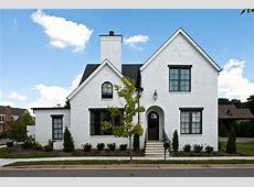 Black exterior window trim exterior craftsman with house