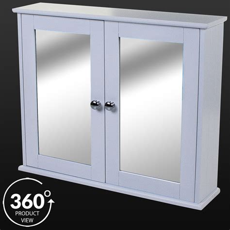 Mirror Bathroom Wall Cabinet by Large Wooden Mirror Door Cabinet Shelf White Wall