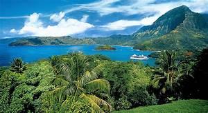 Marquesas, Tuamotus, and Society Islands - Itinerary & Map ...