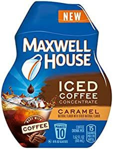 Maxwell house iced coffee concentrate, vanilla, 1.62 ounce : Amazon.com : Maxwell House Iced Coffee Concentrate ...