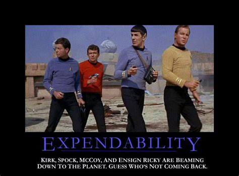 Red Shirt Star Trek Meme - star trek quot red shirts quot the harsh statistical truth wired