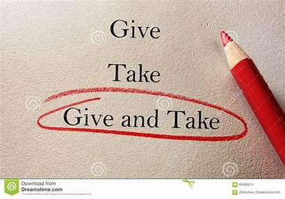 Give Take Compromise Reciproche Compromesso Concessioni Pencil