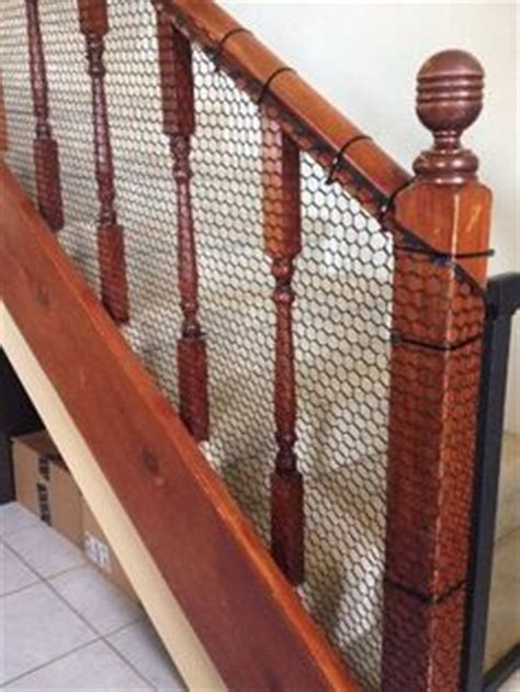 cheap   child proof  stairway  banisters