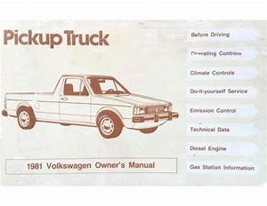 10  81 Vw Rabbit Truck Diesel Engine Diagram