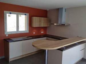 elegant faire une table avec un plan de travail beau With mobalpa cuisine plan de travail