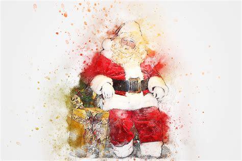 christmas santa claus gift  image  pixabay
