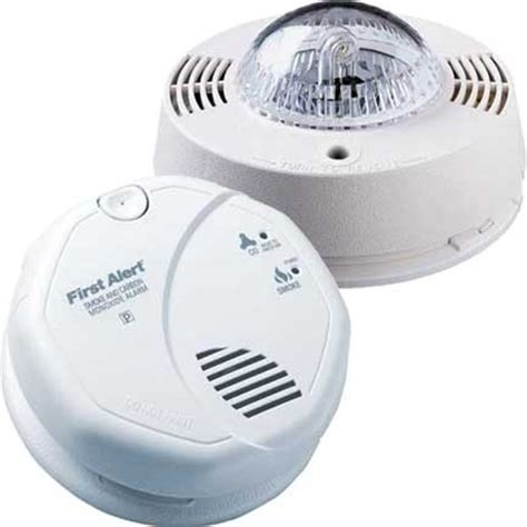 smoke detector red light solid home renovation construction page 3 deaf community