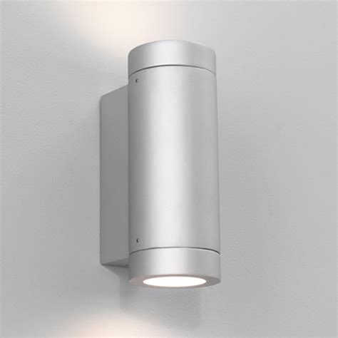 astro porto plus twin ip44 outdoor up down wall light