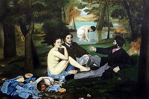 Manet - Luncheon on the Grass - Oil Painting Reproduction