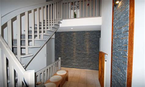 Schiefer Wandverkleidung Wohnzimmer  Haus Design Ideen
