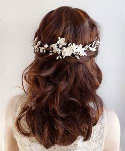 17 Best Ideas About Bridal Hair Flowers On Pinterest