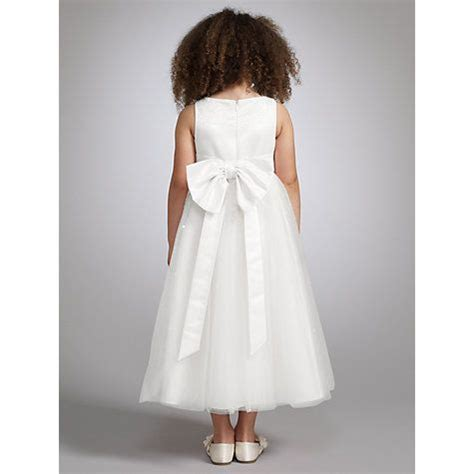 john lewis girls fairy bridesmaid dress ivory wedding