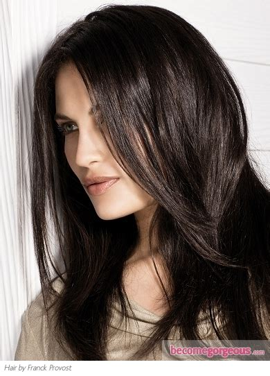 Hair Color Black Brown by Pictures Brown Hair Color Shades Chocolate Brown