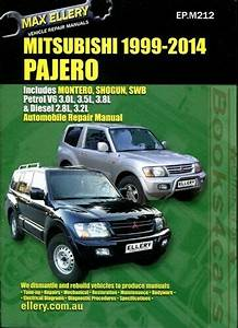 Mitsubishi Montero Shop Manual Pajero Service Repair Book