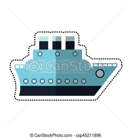 Dessin Bateau Mer by Vecteurs Eps De Bateau Voyage Dessin Anim 233 Mer