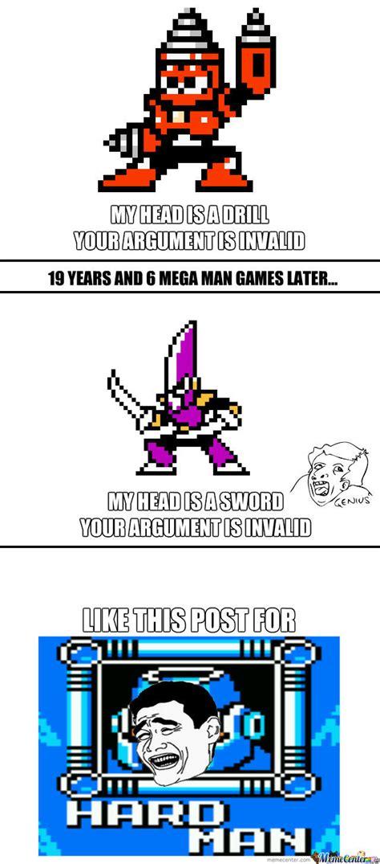 Megaman Memes - mega man logic by onlyhalfgerman meme center