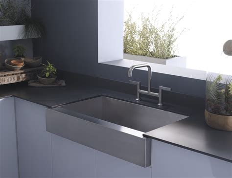 Cupboards Kitchen And Bath Apron Sink Trends  Kohler