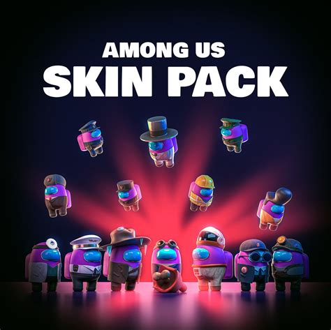 Among Us Skins Pack 3D Asset Cgtrader Download - 2400*2397 ...