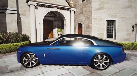 Rolls Royce Wraith Modification by Gta 5 Rolls Royce Wraith Add On Replace Animated Mod