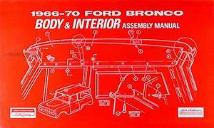 1969 Ford Bronco  Econoline And P