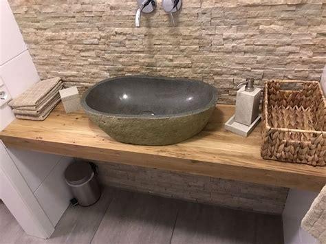 Waschtischplatten Aus Holz by Waschtischplatte Waschtischkonsole Eiche Baumkante