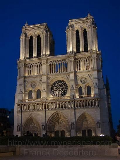 Paris Dame Notre Nuit Night Myparisnet Ouest