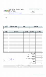 Printed Invoice Hand Written Receipt Template Printable Receipt Template