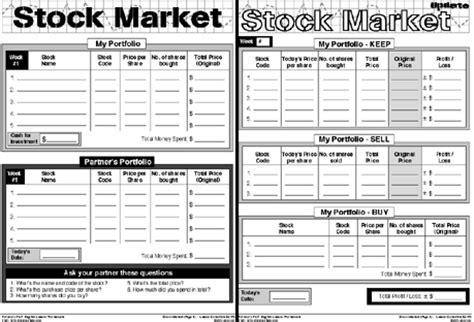 stock market worksheet the best worksheets image