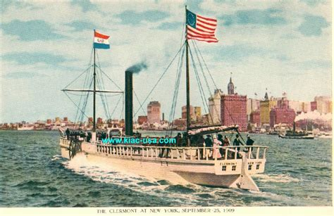 Steamboat Fulton by Robert Fulton S Steam Boat Clermont